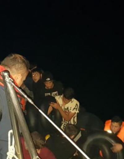 Didim'de 47 kaçak göçmen yakalandı