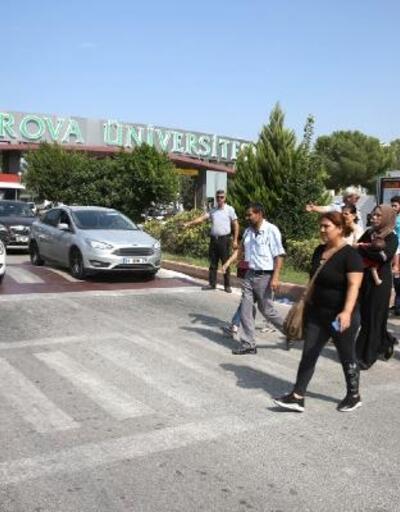 ÇÜ'de 'Öncelik Hayatın, Öncelik Yayanın' uygulaması