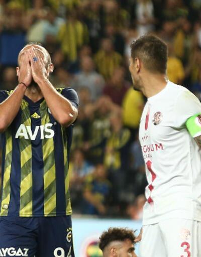 Fenerbahçe-Antalyaspor: 0-1