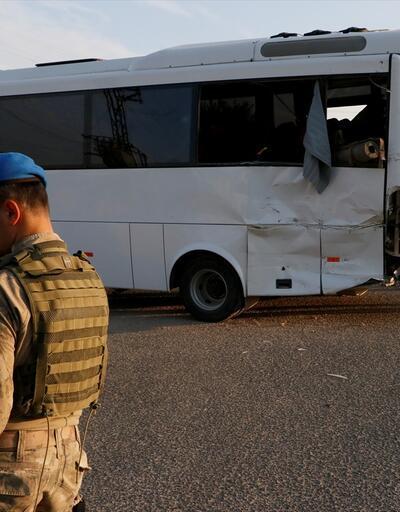 Askeri midibüsle TIR çarpıştı: 1 şehit 14 yaralı