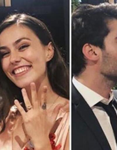Berkay Hardal ile Dilan Telkök nişanlandı