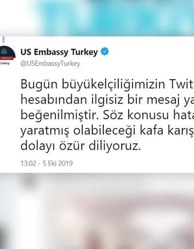 Son dakika... MHP'den ABD Büyükelçiliği'ne tepki: Bunun karşılığı verilmeli