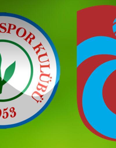 Çaykur Rizespor Trabzonspor maçı ne zaman saat kaçta, hangi kanalda? (Rize - Trabzon)