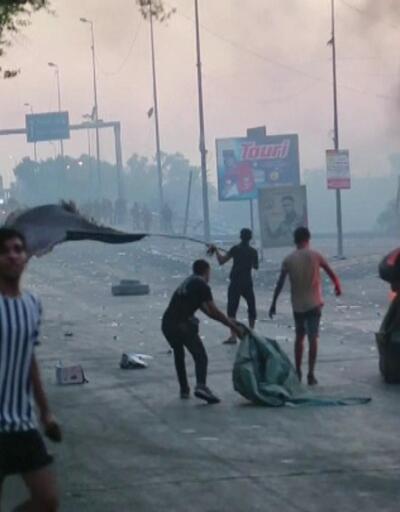 Sokaklar savaş alanına döndü