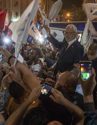 Tunus'ta seçimin galibi Raşid el-Gannuşi oldu