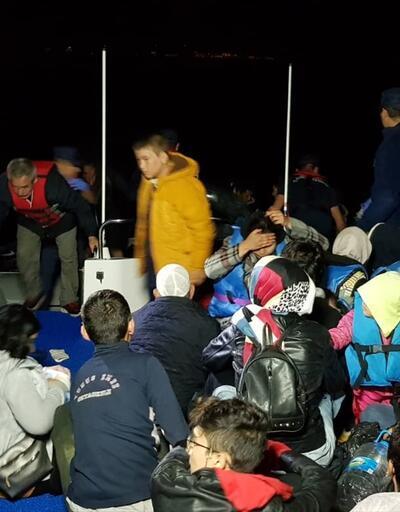 Didim'de 132 göçmen yakalandı
