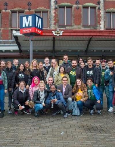 Türk öğrencilere Hollanda'dan 2 kupa