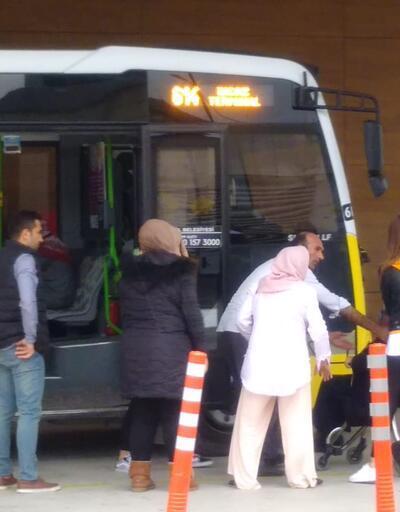Otobüs şoföründen insanlık dersi