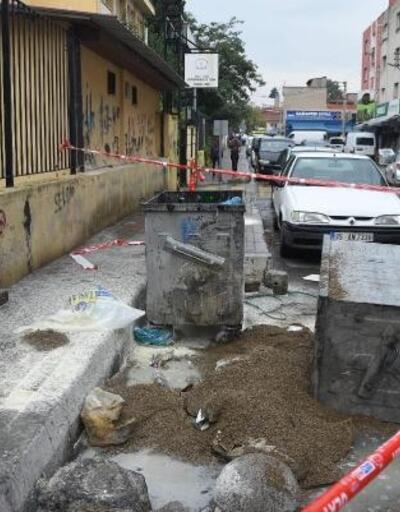 İzmir'de, kimyasal madde yangını korkuttu