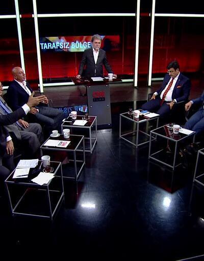 """Tarafsız Bölge'de Resul Tosun ve Necdet Saraç arasında """"ifade özgürlüğü"""" tartışması"""