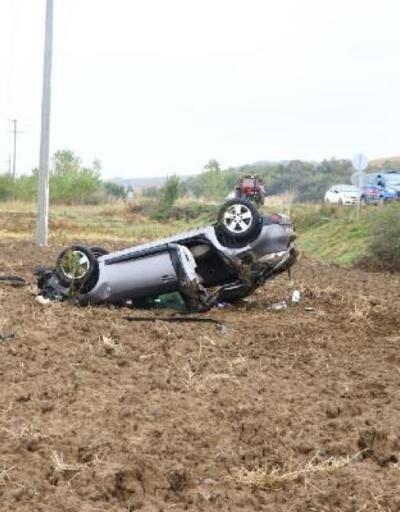 Hayrabolu'da trafik kazası: 2 yaralı