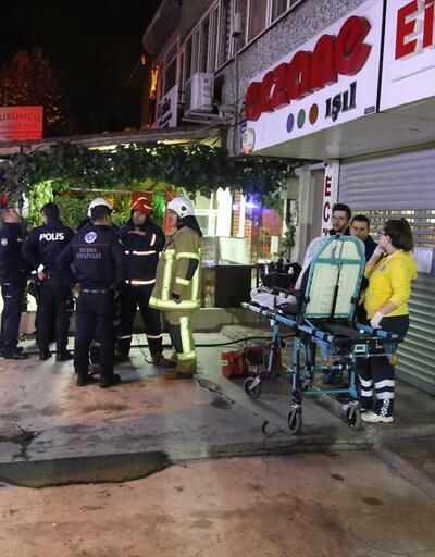 Bursa'da iş yerinde yangın: 1 kişi öldü