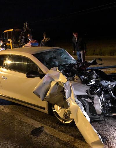 Çankırı'da otomobille traktör çarpıştı: 2 ölü, 1 yaralı