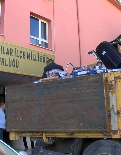 Bağcılar İlçe Milli Eğitim Müdürlüğü binası boşaltıldı