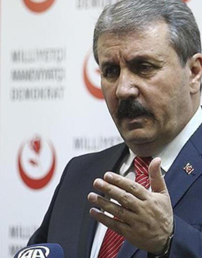 BBP Genel Başkanı Destici'den Barış Pınarı Harekatı açıklaması
