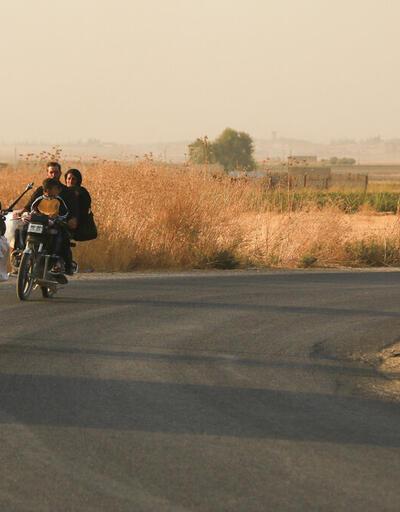 Resulayn'da siviller bölgeyi terk ediyor