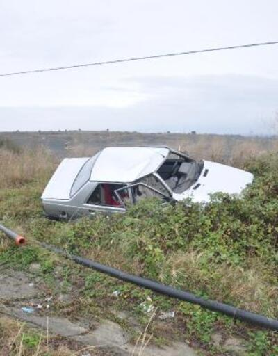 Malkara'da iki otomobil çarpıştı: 2 yaralı