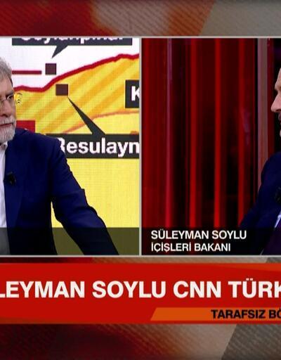 İçişleri Bakanı Süleyman Soylu, harekata ilişkin merak edilenleri A'dan Z'ye Tarafsız Bölge'de anlattı