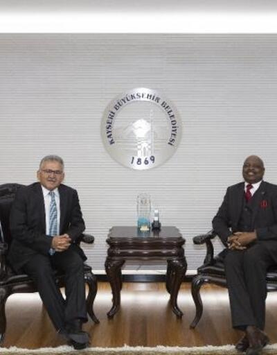 Ruandalı Büyükelçiden Büyükkılıç'a ziyaret