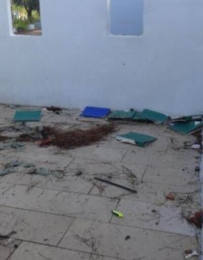 Mustafakemalpaşa'da kapatılan cezaevi madde bağımlılarının mekanı oldu