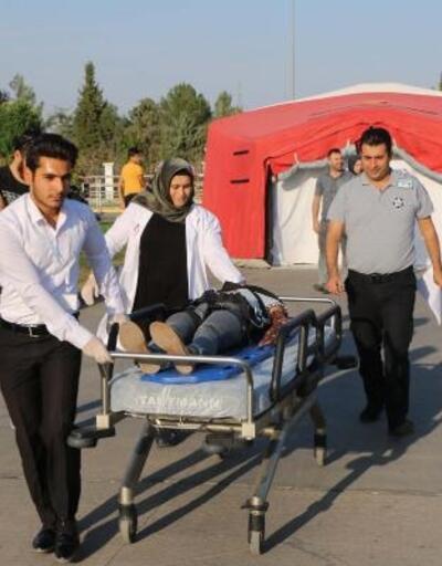Adıyaman'da ulusal TAMP deprem tatbikatı başladı