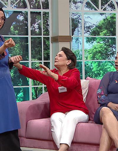 Fatma Hanım, Dilek'i odadan kovdu