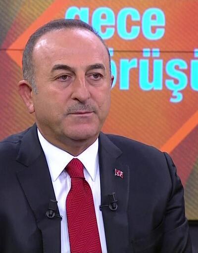 Bakan Çavuşoğlu CNN TÜRK'te soruları yanıtladı