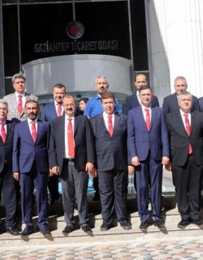 Gaziantepli iş insanlarından 'Barış Pınarı Harekâtı'na destek