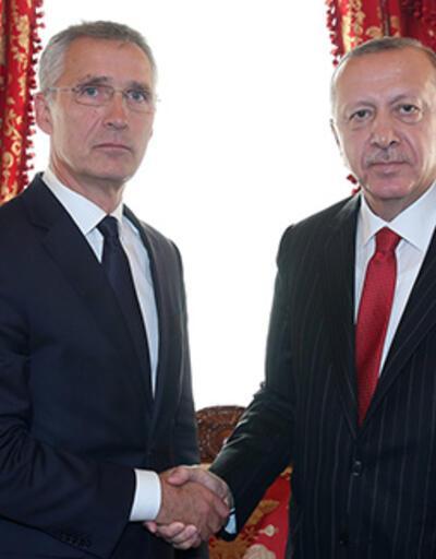 Son dakika... Erdoğan'ın Stoltenberg'i kabulü başladı