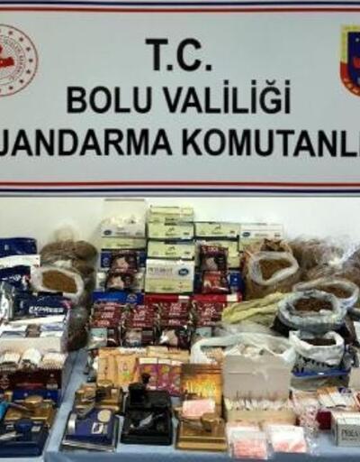 Bolu'da jandarmadan kaçakçılık operasyonları: 3 gözaltı