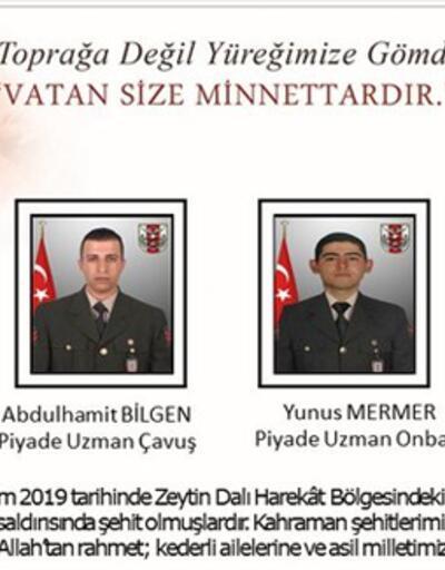 MSB acı haberi duyurdu: 2 asker şehit