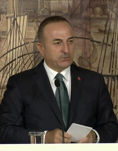 Çavuşoğlu'ndan ABD'ye Suriye yanıtı