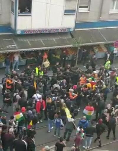 Almanya'da PKK yanlıları Türk marketine saldırdı