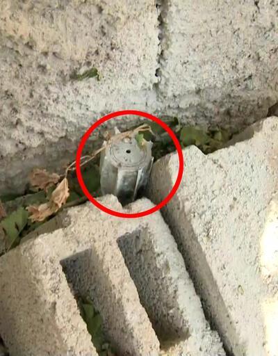 Nusaybin'de bir eve havan isabet etti