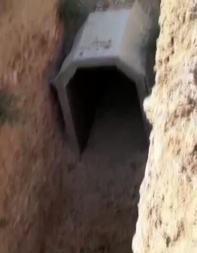 Sınırda terör tüneli