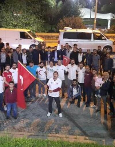 Kağıthane'de Barış Pınarı Harekatına konvoylu destek