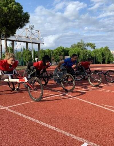 Engelli sporcular dünya şampiyonası için kampa girdi