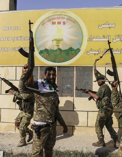 Tel Abyad ilçe merkezinin tamamı teröristlerden kurtarıldı