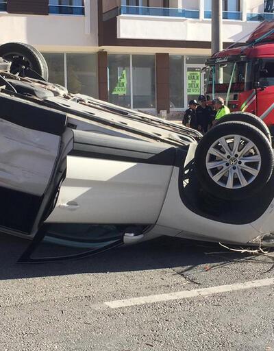 Düğün konvoyunda kaza: Yaralılar var