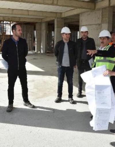 Tepebaşı'nda Yaşam ve Bakım Merkezi'nin yapımı devam ediyor