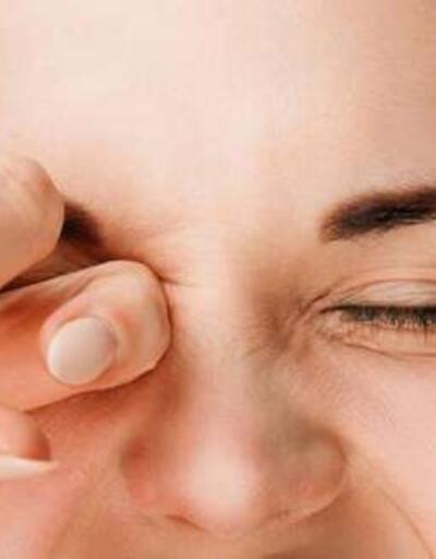 Kirli eller göz iltihaplanmasına sebep oluyor