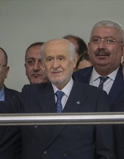 Son dakika: Bahçeli MHP Genel Merkezi'ndeki mesaisine başladı