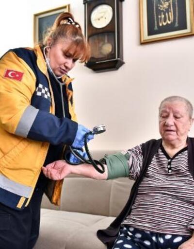 Mamak'ta 4 bin 400 kişiye evde sağlık hizmeti