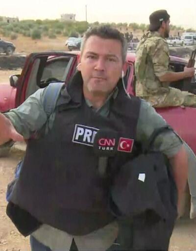 CNN TÜRK ekibi Suriye'de cephe hattında
