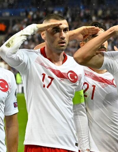 Fransa 1-1 Türkiye / MAÇ ÖZETİ