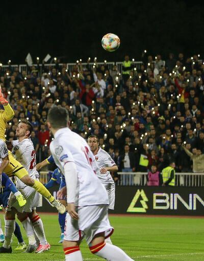 Vedat Muriç attı Kosova kazandı