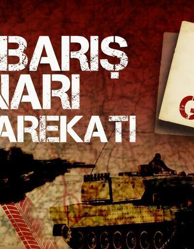 Son dakika... Barış Pınarı Harekatı'nda 595 terörist etkisiz hale getirildi
