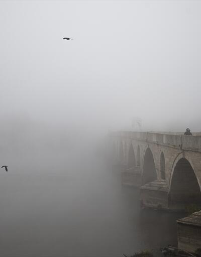 Edirne'de sis etkili oluyor