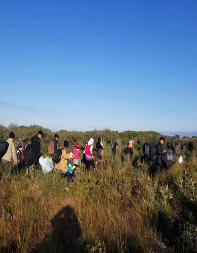 Çanakkale'de 302 kaçak göçmen yakalandı