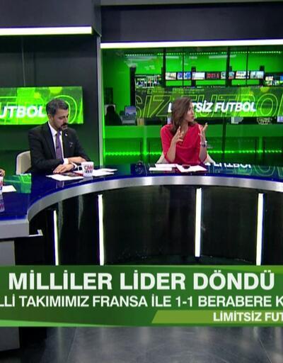 Fransa 1-1 Türkiye maçının analizi Limitsiz Futbol'da ekrana geldi